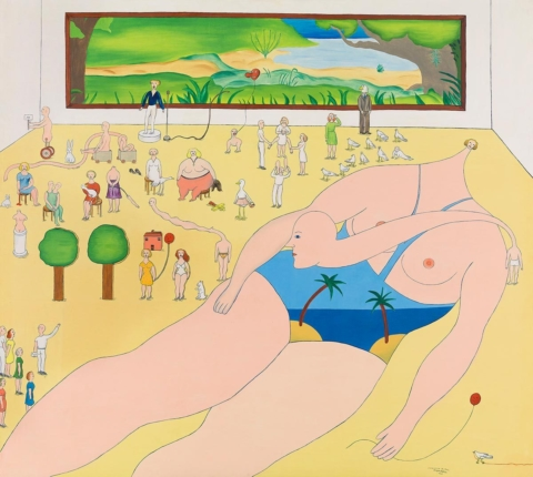Marie-Louise Ekman — a Swedish modern icon in Moderna Museet