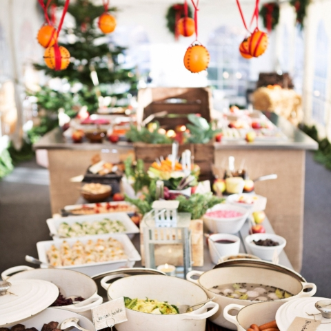The Christmas table at Hotel Skeppsholmen celebrates traditional Swedish flavors and culinary craftsmanship